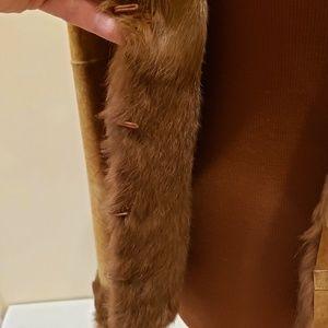 Toi et Moi Jackets & Coats - TOI & MOI Real Leather & Fur Coat